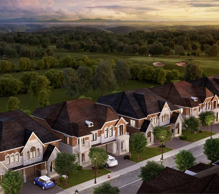 Barca Verde Lakeside View semi detached homes south mississauga
