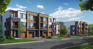 MOD Townes Townhomes in Mineola Mississauga