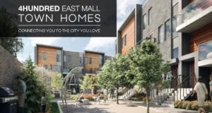 Brand New Preconstruction 4Hundred Townhomes Near East Mall