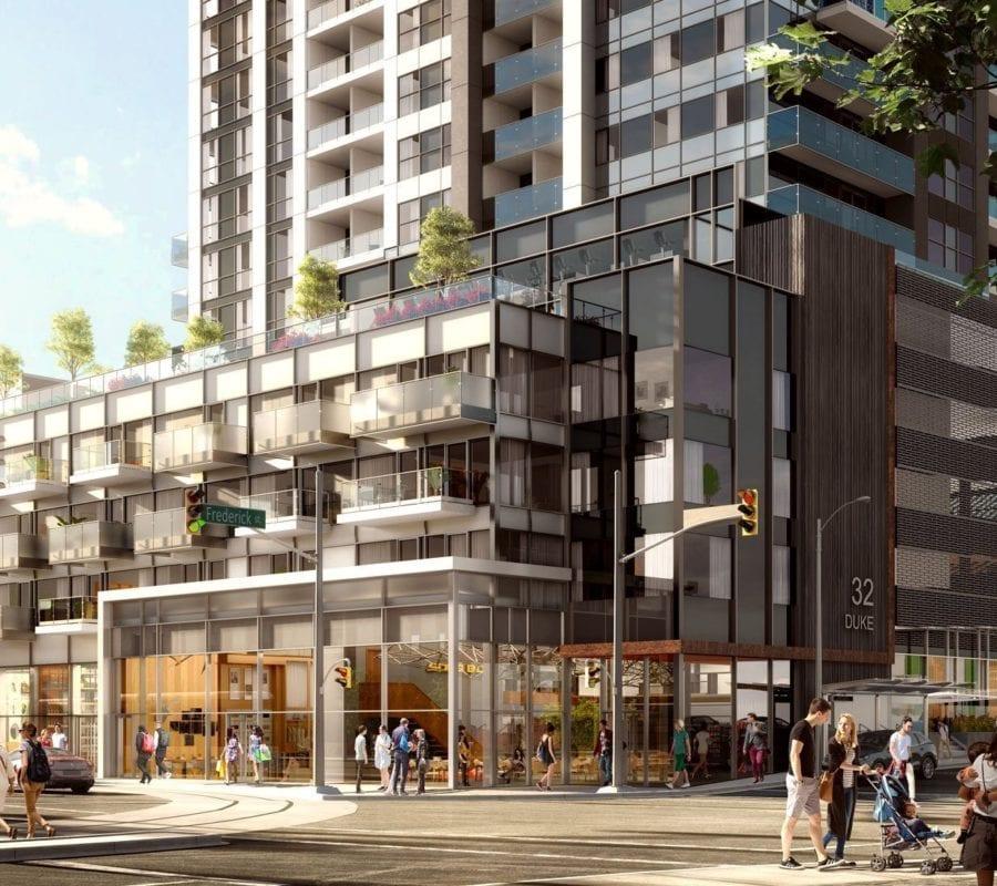 Brand New Preconstruction DTK Condominums Near Duke Street East Kitchener