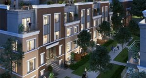 lake & town townhouse development birmingham street etobicoke parkside comunity