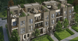 Towns at Rouge Valley 8833 Sheppard Avenue East condominium townhouse development